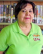 Photo Of Library Circulation Clerk, Lucy Hernandez